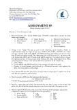 Đề thi môn:  ASSIGNMENT - 5