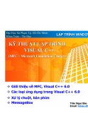 Lập trình Windows - Kỹ thuật lập trình Visual C++
