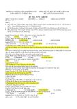 Trắc nghiệm Vi xử lý đề 11-20