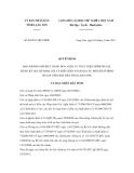 Quyết định số 04/2011/QĐ-UBND