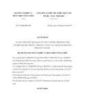 Quyết định số 575/QĐ-BNN-CB