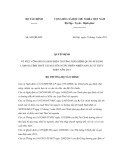 Quyết định số 645/QĐ-BTC