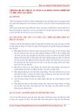 Chương III: Kỹ thuật an toàn lao động trong thiết kế và thi công xây dựng