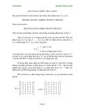 Giáo trình tin học : Hệ mật mã và những khả năng tạo liên lạc tuyệt mật của nó phần 5