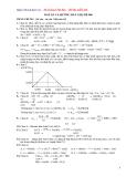 Đáp Án Đề Thi Thử Vào Đại Học, Cao Đẳng Môn thi: Hóa Học - Đề 006