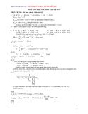 Đáp Án Đề Thi Thử Vào Đại Học, Cao Đẳng Môn thi: Hóa Học - Đề 015