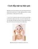 Cách đắp mặt nạ hiệu quả