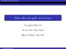 Phần mềm mã nguồn mở và Linux