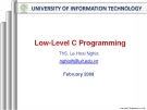 Low-Level C Programming