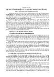 SỰ TRUYỀN TÍN HIỆU VÀ GIAO LƯU THÔNG TIN TẾ BÀO (CELL SIGNALING AND COMMUNICATION)