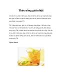 Thức uống giải nhiệt