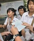 Đáp án và đề thi tốt nghiệp trung học phổ thông năm 2011 môn Tiếng Anh - Hệ 3 năm - Mã đề 283