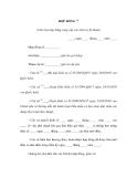 Mẫu hợp đồng (Văn bản hợp đồng cung cấp các dịch vụ kỹ thuật)
