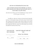 MẪU BÁO CÁO THẨM ĐỊNH KẾT QUẢ ĐẤU THẦU CUNG CẤP DỊCH VỤ ĐO ĐẠC ĐẤT ĐAI ĐỂ PHỤC VỤ CẤP GIẤY CHỨNG NHẬN QUYỀN SỬ DỤNG ĐẤT, QUYỀN SỞ HỮU NHÀ Ở VÀ TÀI SẢN KHÁC GẮN LIỀN VỚI ĐẤT