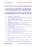 56 câu hỏi tự  luận vấn đáp tư tưởng Hồ Chí Minh