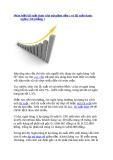 Phân biệt lãi suất thực (dư nợ giảm dần ) và lãi suất danh nghĩa ( lãi phẳng )