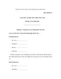 (Ban hành kèm theo Quy chế hoạt động đăng ký chứng khoán) Mẫu 16B/ĐKCKCỘNG