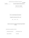 MẪU  YÊU CẦU CHUYỂN KHOẢN CHỨNG KHOÁN  (Áp dụng đối với chứng khoán là Giấy tờ có giá)