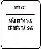 Biên bản kê biên tài sản