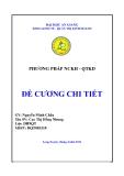 Đề tài: Khảo sát nhu cầu sử dụng dịch vụ chuyển nhà của người tiêu dùng thành phố Long Xuyên