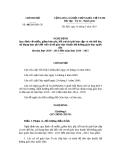 Nghị định số 49/2010/NĐ - CP