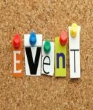 Quy trình thực hiện 1 event