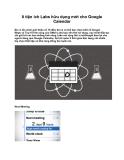 8 tiện ích Labs hữu dụng mới cho Google Calendar