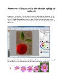 Artweaver - Công cụ xử lý ảnh chuyên nghiệp và miễn phí