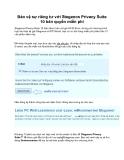 Bảo vệ sự riêng tư với Steganos Privacy Suite 10 bản quyền miễn phí