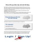 Chia sẻ file qua đám mây một cách dễ dàng