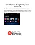 Pocket Express - Thông tin thế giới trên BlackBerry