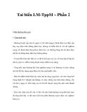 Tai biến LM-TppM – Phần 2