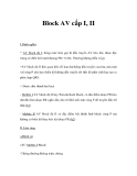 Block AV cấp I, II