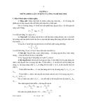 Quá trình và thiết bị truyền chất - Chương 1