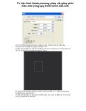Tư liệu hình thành phương pháp cắt ghép phối màu ảnh trong quy trình chỉnh sửa ảnh p1