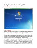 Hướng dẫn cài Windows 7 từ ổ cứng HDD