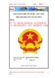 """Tiểu luận """"Hệ thống cơ quan quản lý nhà nước cộng hòa xã hội chủ nghĩa Việt Nam"""""""
