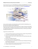 Photoshop CS - Chương 14 - Sắp xếp các đối tượng lớp trong ImageReadyPhotoshop CS