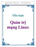 Tiểu luận: Quản trị mạng Linux