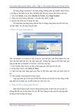 GIÁO TRÌNH Word 2007 -  Tìm hiểu Microsoft Office 2007 phần 4