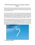 Thiết kế website động với mã nguồn Drupal 7 – phần 1