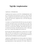 Ngộ độc Amphetamine
