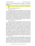 Bài giảng Hệ thống canh tác part 1