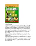 Dinh dưỡng và sức khỏe part 1