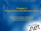 Chương 3: Lập trình với Windows Forms