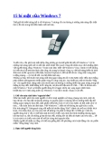 15 bí mật của Windows 7