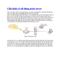 Cấu hình và cách sử dụng về print server