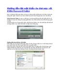 Hướng dẫn đặt mật khẩu cho thư mục với IOBit Password Folder