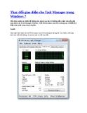 Thay đổi cái giao diện cho Task Manager trong Windows 7