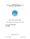 Báo cáo thực tập tốt nghiệp: Một số kĩ thuật xử lý lỗi phần cứng máy tính tại Công Ty TNHH Công Nghệ Tin Học 3A